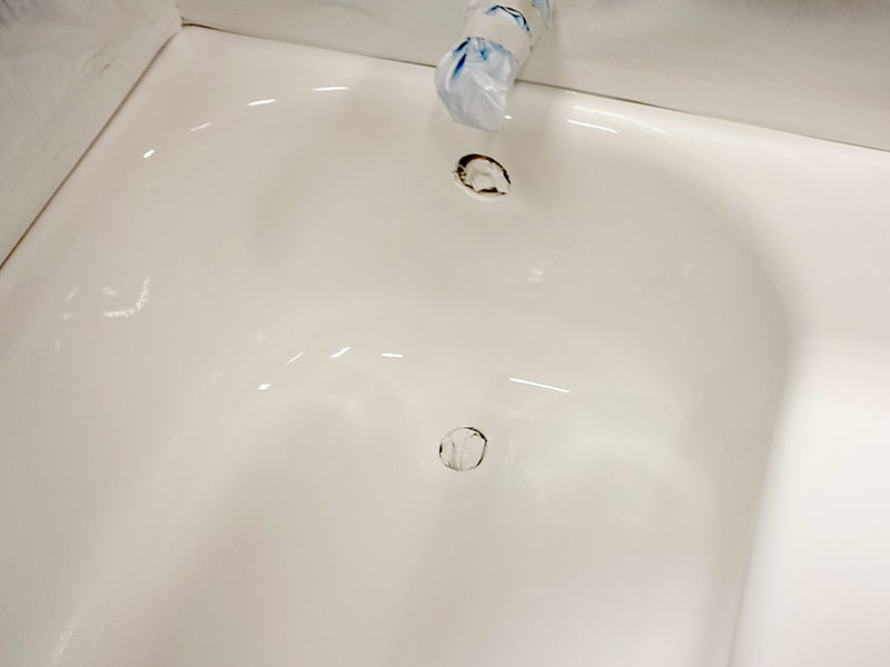 Bathtub Drain Overflow Rust Hole Repair