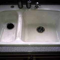 Reglaze Kitchen Sink Lowes Faucets On Sale Refinishing Maryland Wash Dc N Virginia Refinished In A Home