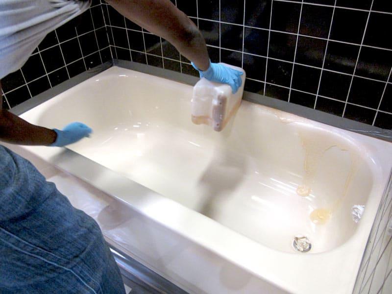 Stripping Refinished Bathtub  BathRenovationHQ