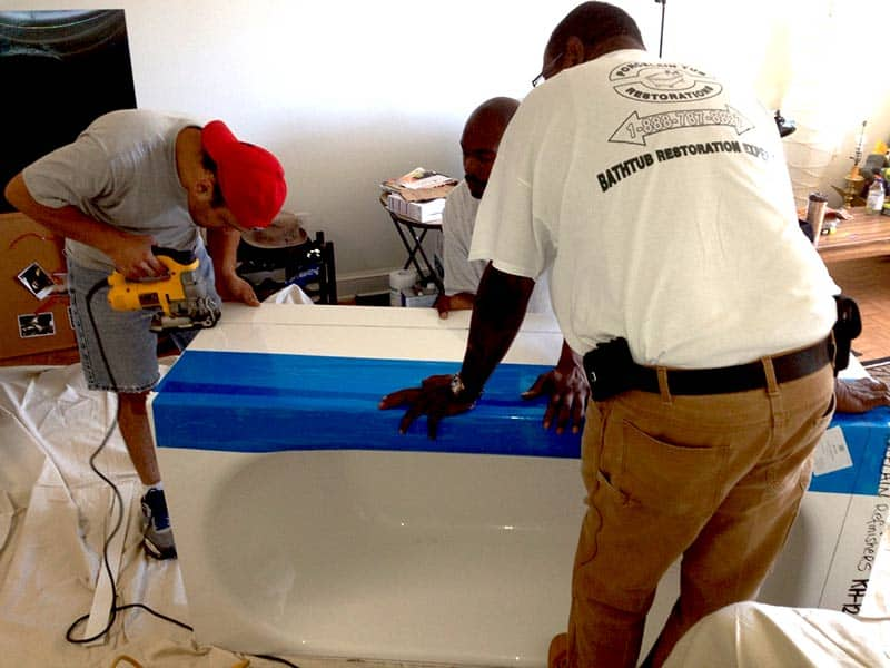 Beltsville Tub Liner Installation Porcelain Tub Restorations