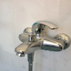 Two Handle Kitchen Faucet Repair Storage Cabinets Free Standing How To Replace My Bath Shower Mixer At Home ...