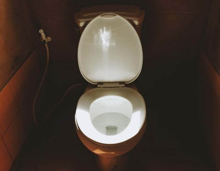 Best toilet light