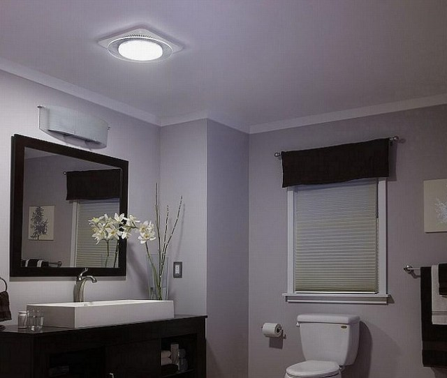 Bathroom Exhaust Fans With Light