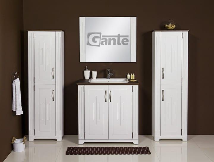 vanity unit white 80cm