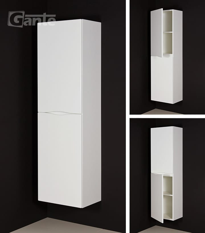 Tall Storage Unit white