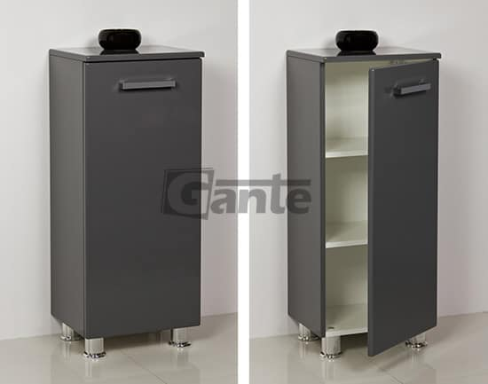 grey storage unit 40 cm