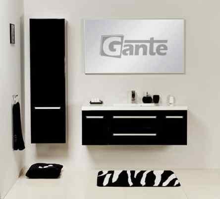 vanity unit 120cm black