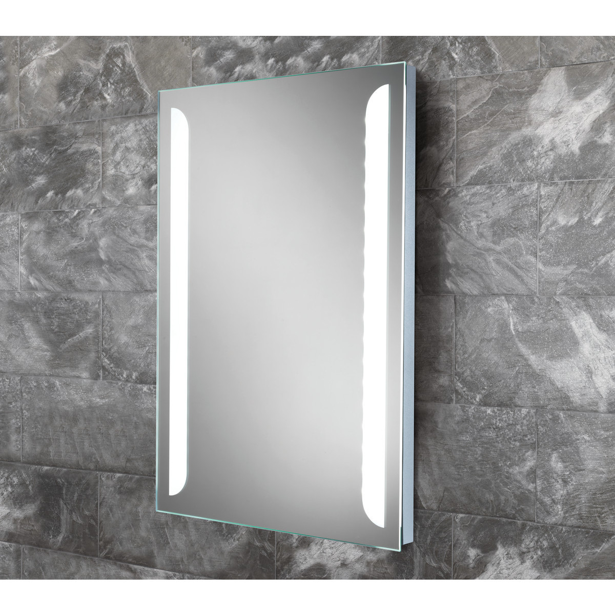 Illuminated Bathroom Mirror Livvy 700 X 500mm Led Backlit Illuminated Bathroom Mirror