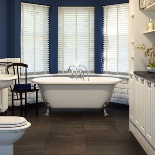 cooke lewis freestanding rolltop bath bathrooms plus bathrooms plus. Black Bedroom Furniture Sets. Home Design Ideas