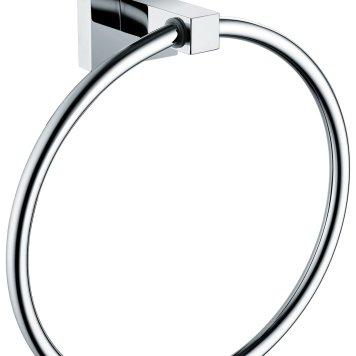 Bristan Square Towel Ring.