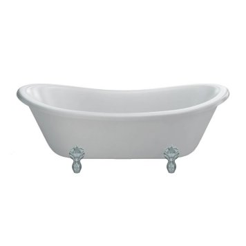 Burlington Bateau Freestanding Bath - 1640mm x 700