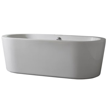 Pebble Modern Freestanding Bath, 1700mm x 800mm, 5mm Acrylic