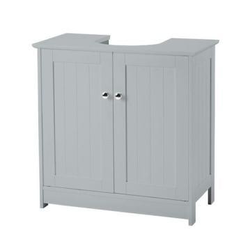 Adamo Vanity Unit In Grey With 2 Doors