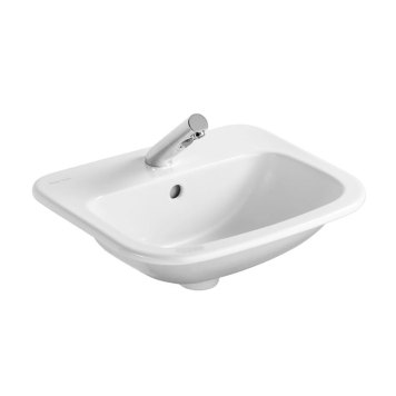 Armitage Shanks - Planet21 50cm Countertop basin - 1TH with Overflow No Chainhole