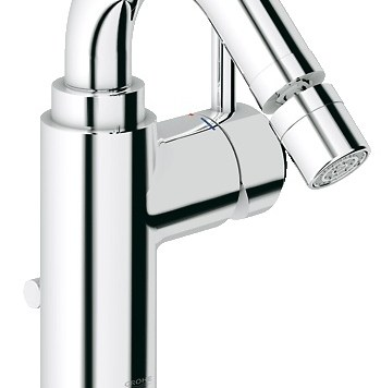 Grohe Atrio Bidet Mixer with Pop-Up Waste 32108001