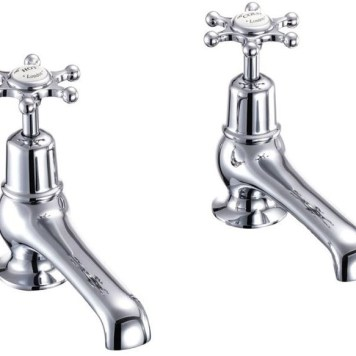 Burlington Birkenhead Chrome Basin Taps