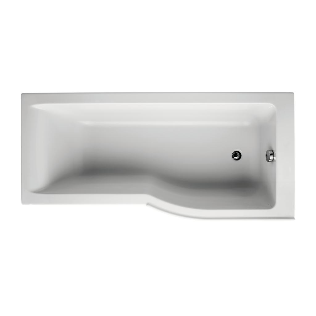 Ideal Standard Concept Air P-Shaped Shower Bath Right