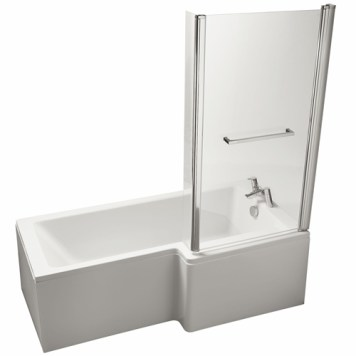 Ideal Standard Tempo Cube Right Hand Shower Bath - 1700mm x 800mm