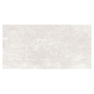 Urban White Matt Stone effect Ceramic Wall & floor tile Pack of 5 (L)600mm (W)300mm