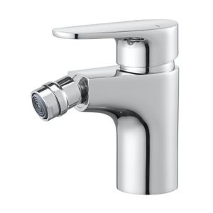 GoodHome Cavally 1 lever Chrome-plated Modern Bidet Mono mixer Tap