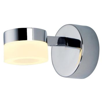 Calore 1 Light LED Bathroom Wall Light - Chrome