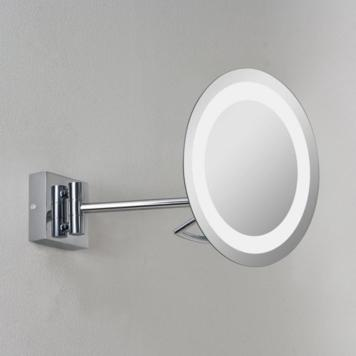 Astro 1097002 Gena Plus magnifying swing-arm illuminated bathroom mirror, IP44