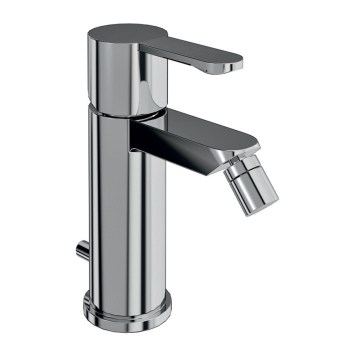 Britton Crystal Chrome Bidet Mixer & Pop Up Waste