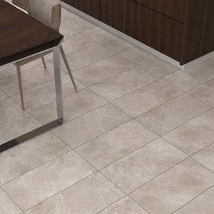 Bristol Taupe Matt Glazed Tile Marble effect Porcelain Wall & floor Tile Pack of 6 (L)600mm (W)300mm