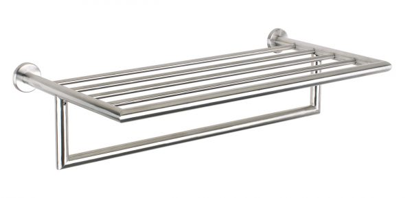 Bathroom Towel Stand Urban Steel Towel Rack Shiney Polished In Chrome Pz40p