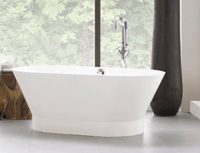 Neptune Freestanding Bathtub Oval White Bathroom Vanities And More