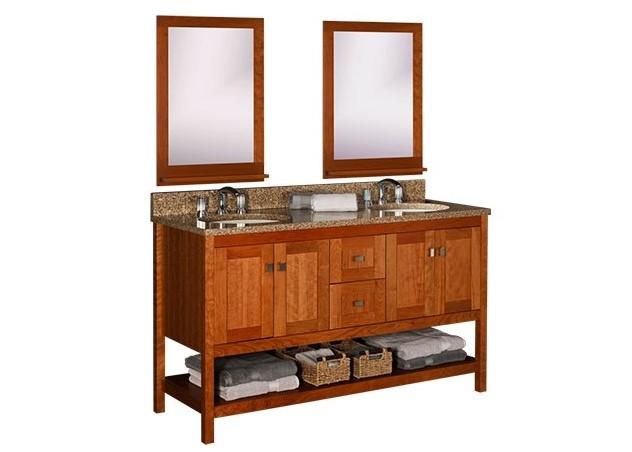 strasser woodenworks 60 alki spa double sink vanity 4 door styles 15 finishes