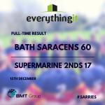 Bath Saracens 60 Supermarine 2nds 17