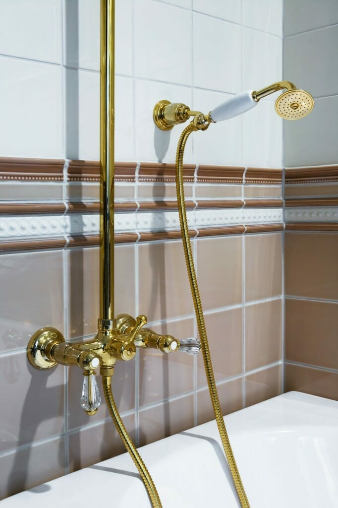 How to Clean Gold Faucets Maintaining Gold Plated Bathroom Fixtures