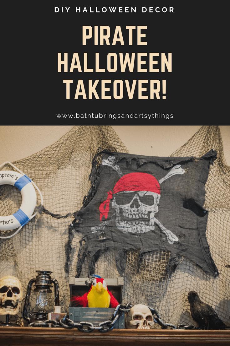 Halloween pirate theme