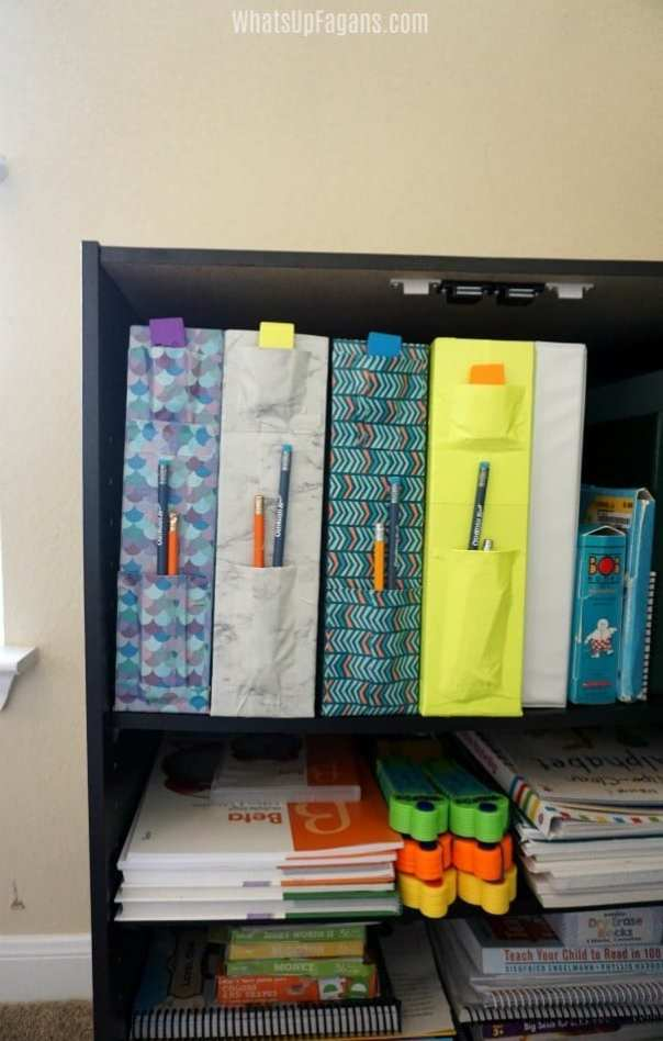 How to organize for homeschooling or office space.