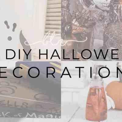 24 Cheap Halloween Home Decor Ideas you can DIY