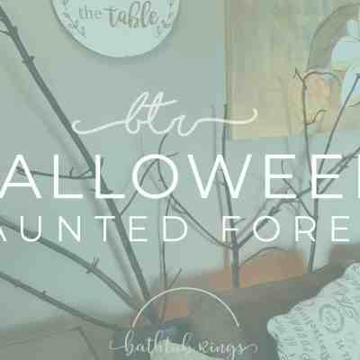 Halloween Home Decor: Add Halloween Trees in your Living Room
