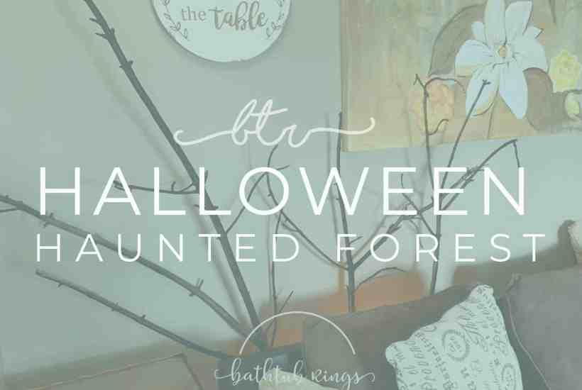 HALLOWEEN HAUNTED FOREST DIY FEATURED