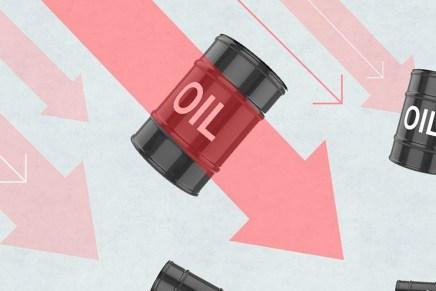 Cierre: Precios del petróleo se desplomaron nuevamente