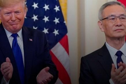 Cierre: Se firma primera fase de acuerdo comercial entre EUA y China