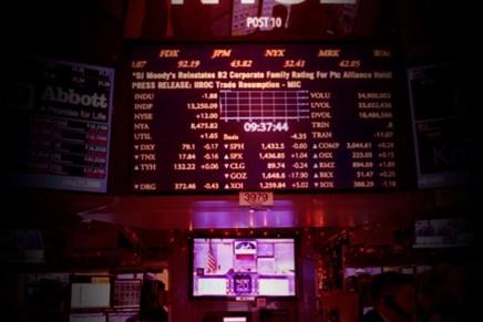 Cierre: Índices accionarios retrocedieron en Wall Street