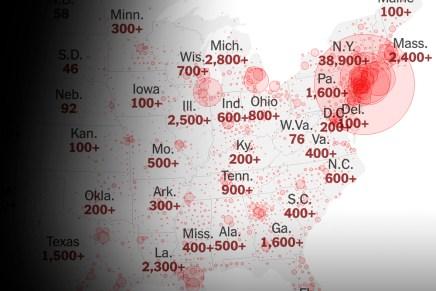 Top del día: Reportes pusieron a EUA encima de China de casos Covid19