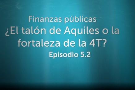 Podcast Semanal: Finanzas públicas ¿El talón de Aquiles o la fortaleza de la 4T? Parte 2