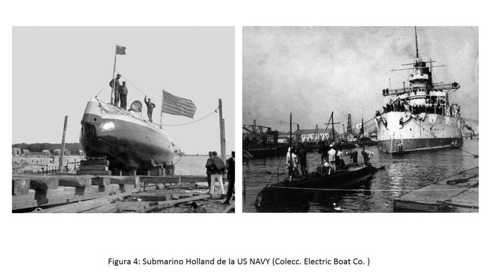 El Isaac Peral (A-0), primer submarino de la Flotilla (4/6)