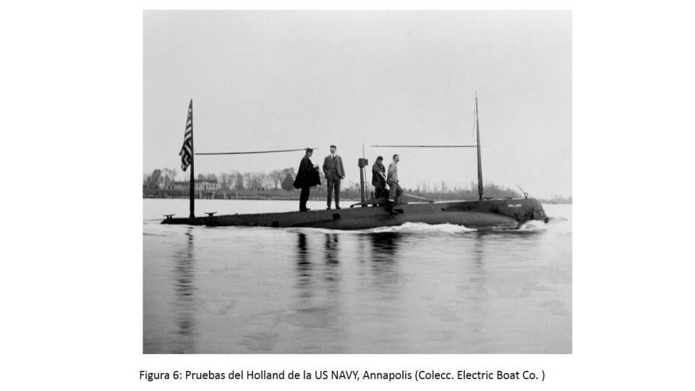 El Isaac Peral (A-0), primer submarino de la Flotilla (6/6)