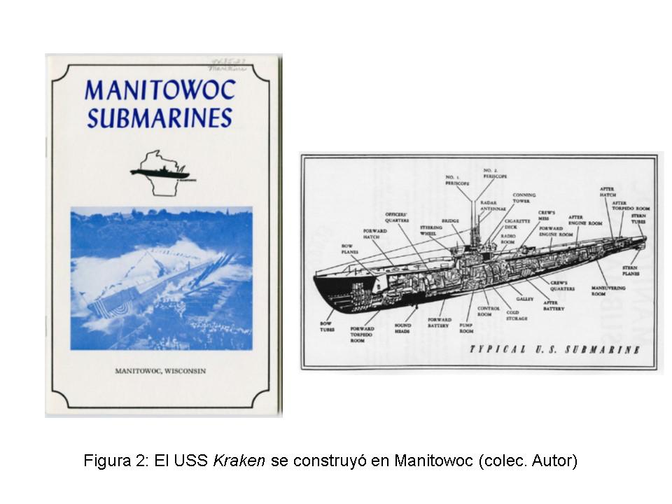 Historia de un submarino norteamericano que después fue español, el USS. Kraken (2/6)