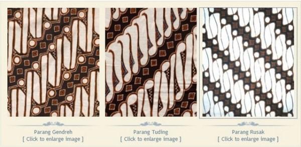 Batik yogyakarta klasik Motif Parang