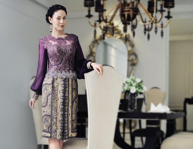 model baju batik resmi