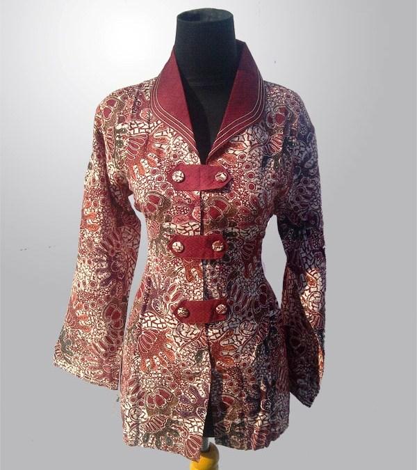 Model Baju Batik Untuk Kerja Yang Modis Archives Pusat Batik Etnik