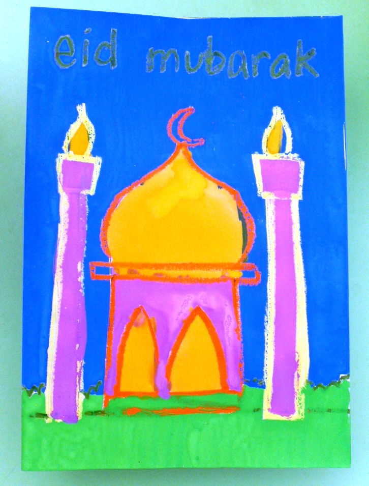 Eid Greeting Cards (2/3)